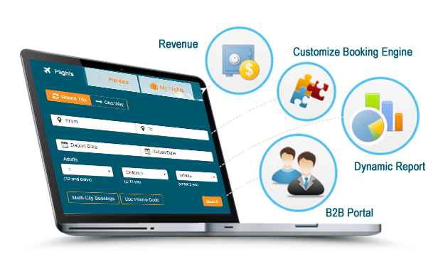 Wizie B2C Booking Engine